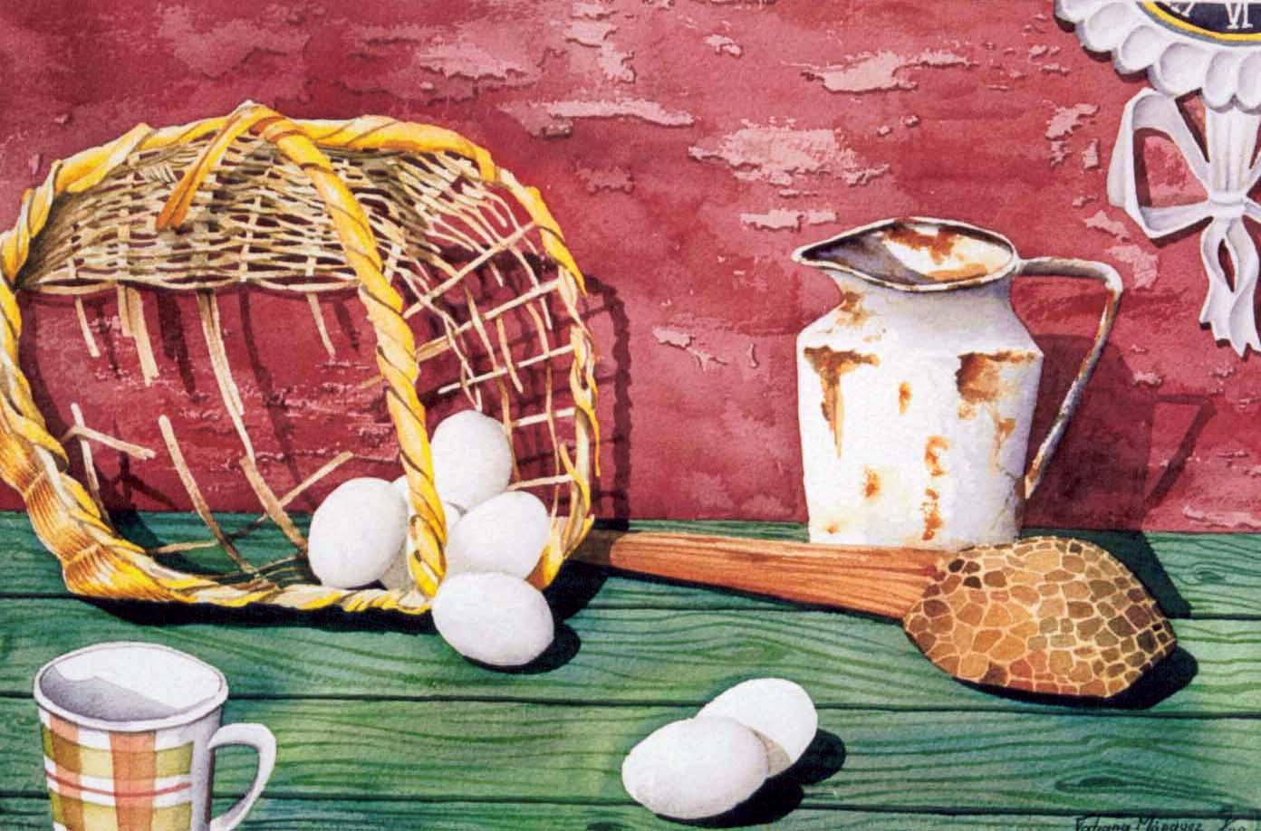 Acuarela original de Tatiana Escobar