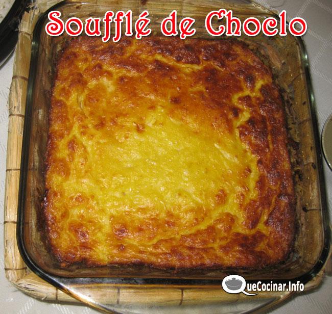 Soufflé de Choclo