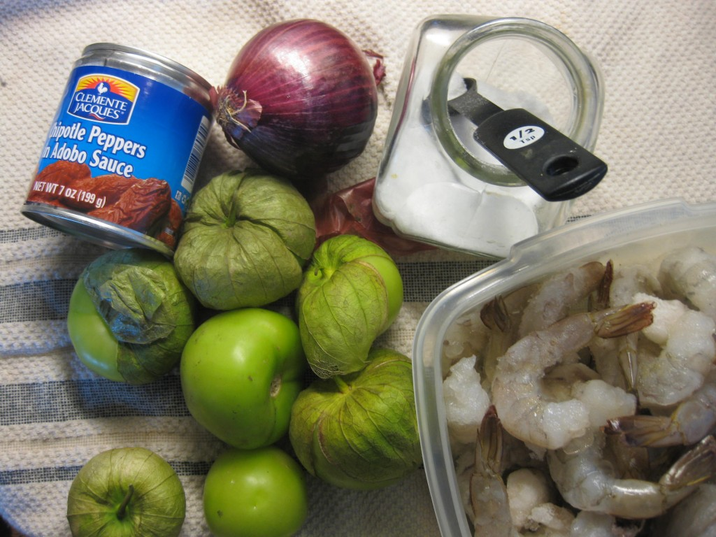 Camarones-con-chipotle-2-1024x768 Salsa Chipotle Tomatillo con Camarones | Que Cocinar