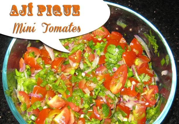 Ají Pique de Mini Tomates