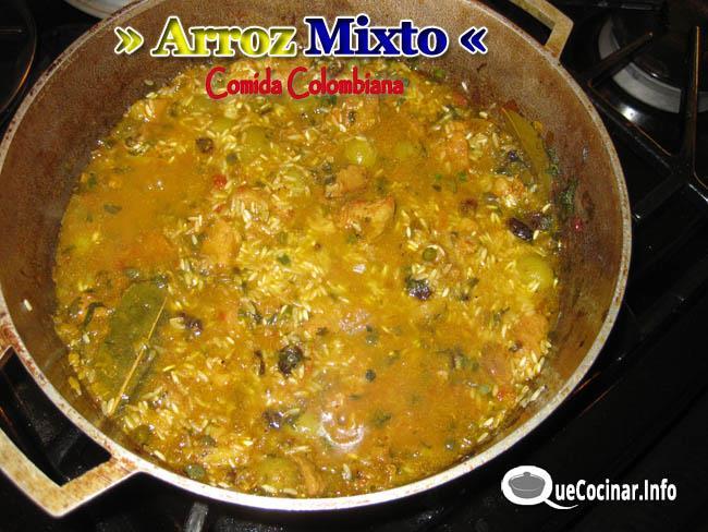 Arroz-Mixto Arroz Mixto | Recetas de Comida Colombiana