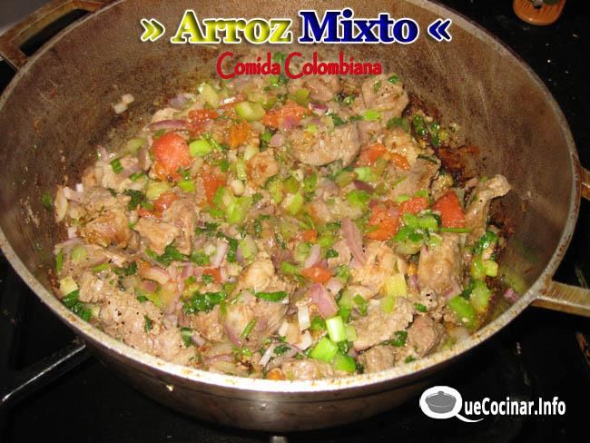 arroz-mixto-3 Arroz Mixto | Recetas de Comida Colombiana