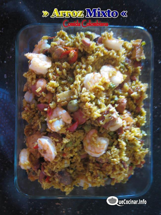 Arroz Mixto | Recetas de Comida Colombiana