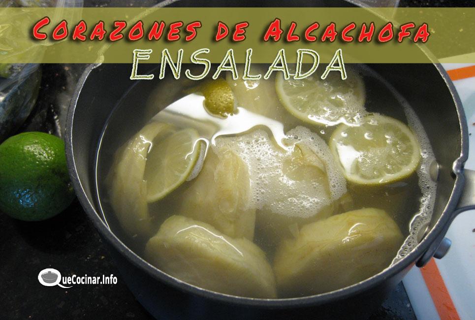 Corazones-de-alcachofa Ensalada de Corazones de Alcachofa