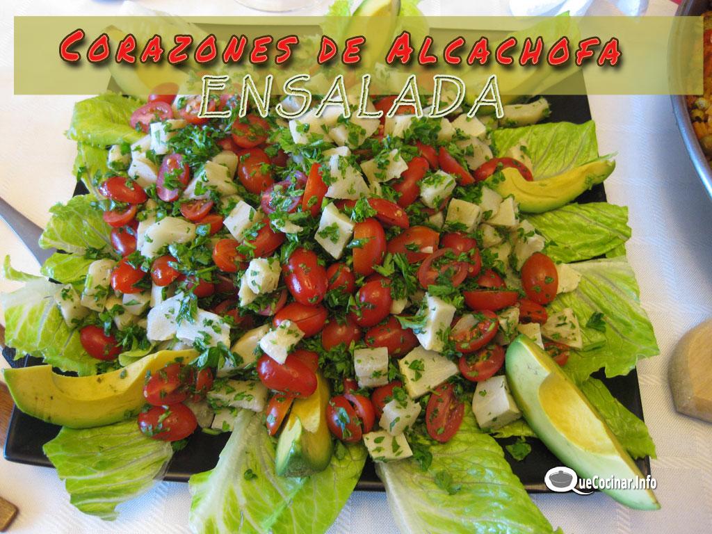 Ensalada de Corazones de Alcachofa