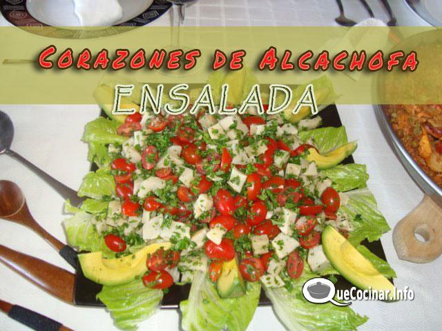 Ensalada-de-Corazones-de-al Ensalada de Corazones de Alcachofa