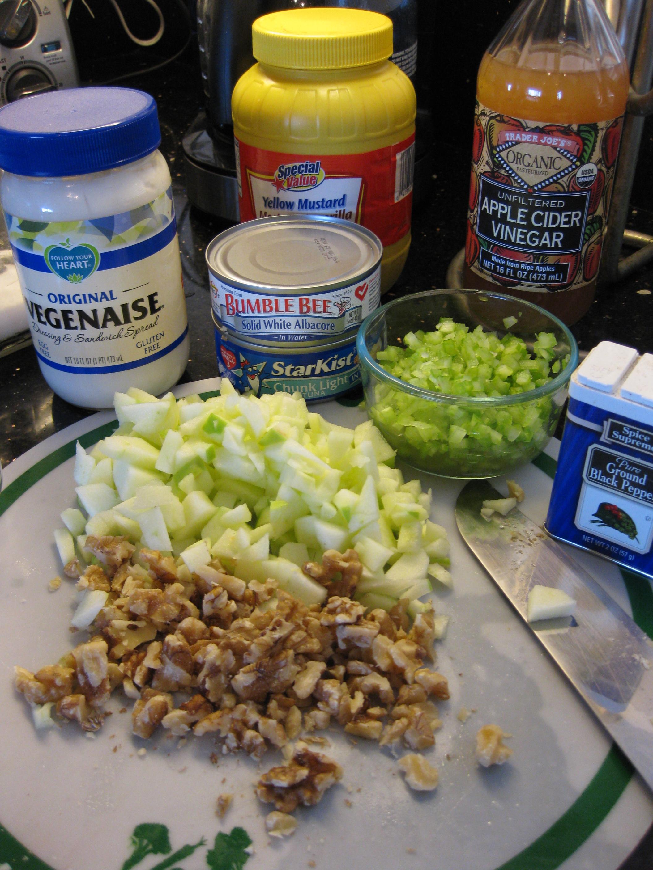 Ensalada-de-atun-3 Ensalada de Atún Crujiente   Que Cocinar