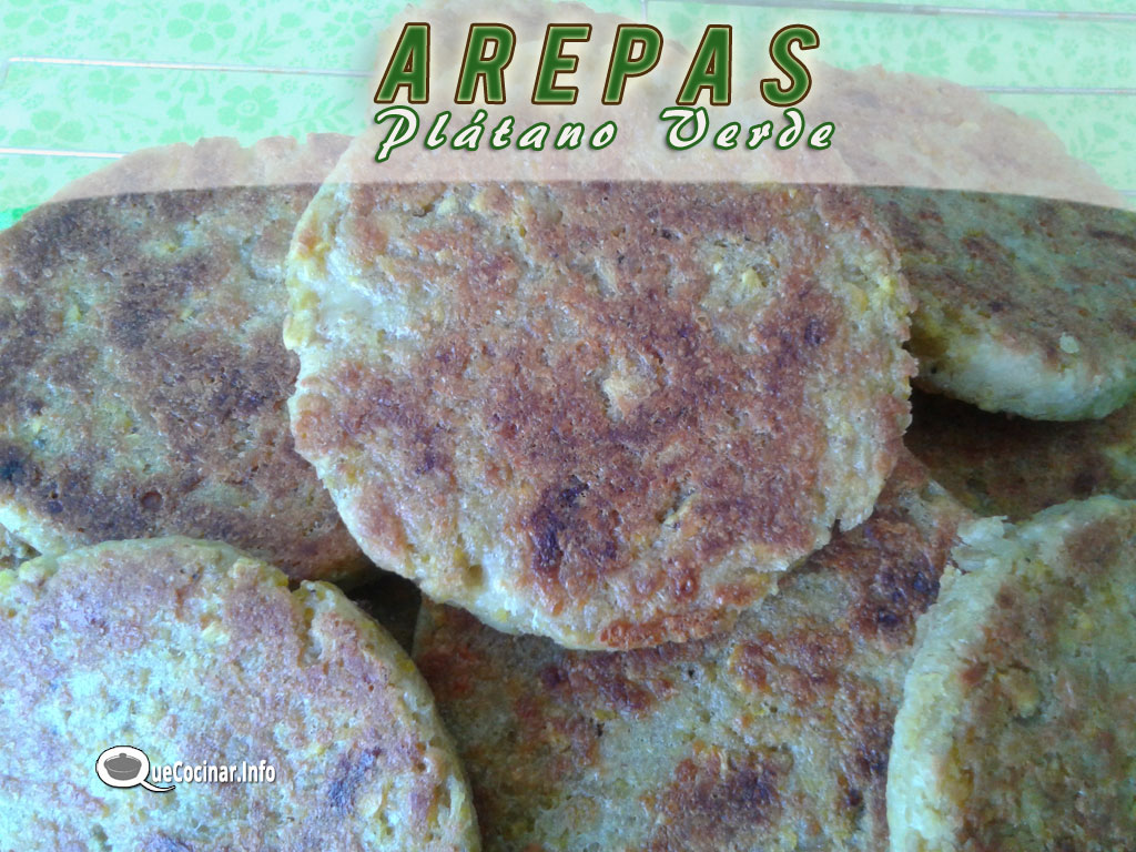 arepas-de-platano-1 Arepas de Plátano Verde | Que Cocinar