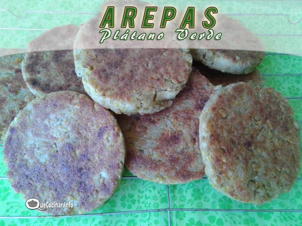arepas-de-platano-verde3 Arepas de Plátano Verde | Que Cocinar