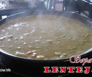 Sopa de Lentejas | Que Cocinar