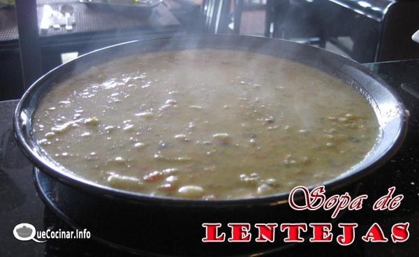 sopa-de-lentejas Sopa de Lentejas   Que Cocinar