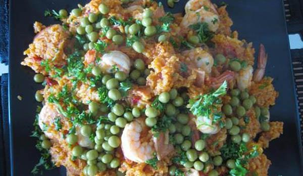 Q-Arroz-con-Camarones-2 Recetas para la Cuaresma de Pescado y Mariscos
