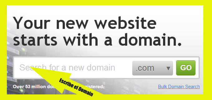 Godaddy-Domain Crear Un Blog