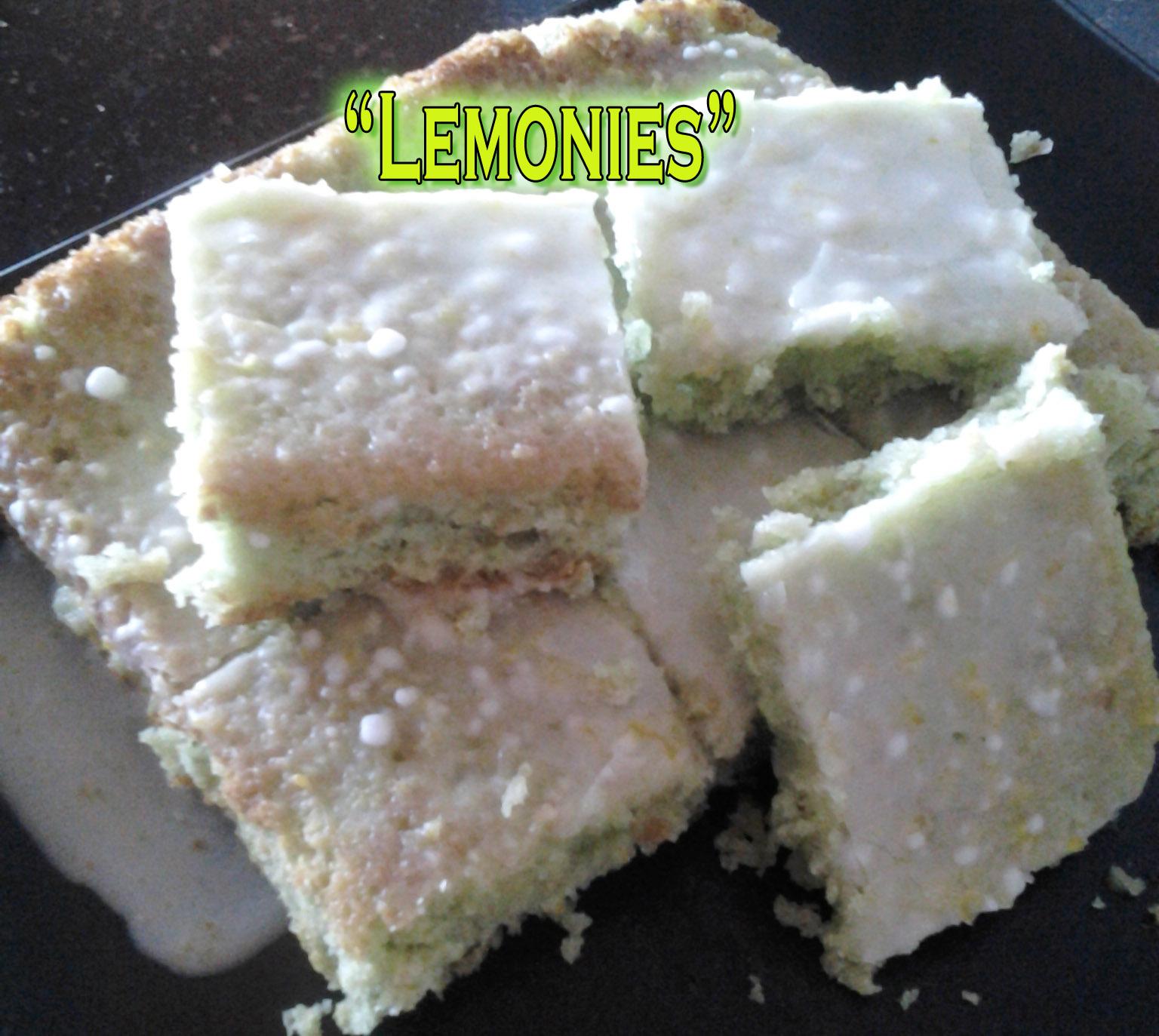 Lemonies – Brownies de Limón