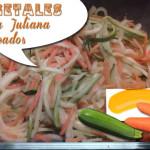 Vegetales a La Juliana Salteados