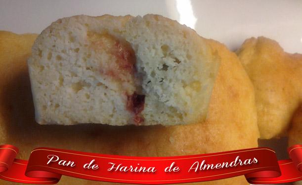 Pan-de-harina-de-almendras Pan de Harina de Almendras | Pan Casero Delicioso