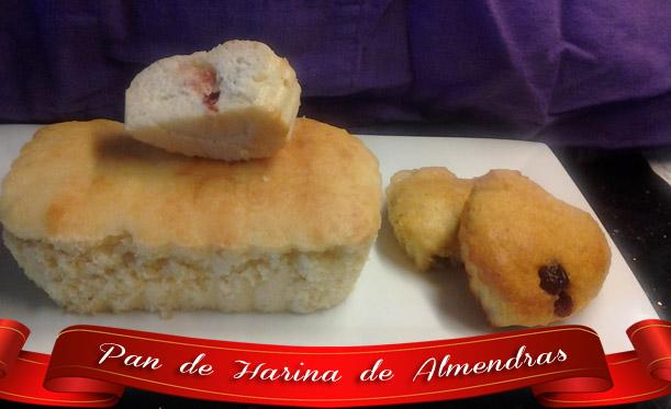 Pan-de-harina-de-almendras1 Pan de Harina de Almendras   Pan Casero Delicioso