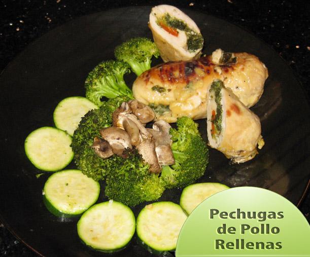 Pechugas-de-pollo-Rellenas_002 Pechugas de Pollo Rellenas | Recetas Pollo