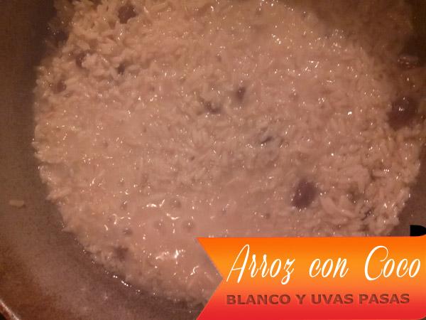 Arroz-Con-Coco-Blanco-6 Arroz Con Coco Blanco Y Uvas Pasas | Arroz con Coco Hervido Y Uvas Pasas