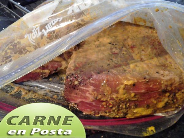 Carne-en-posta-marinando Carne en Posta | Posta Negra Cartagenera