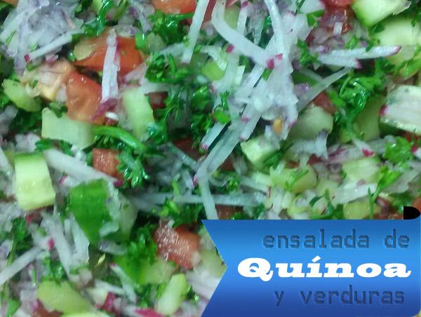 Ensalada-de-Quinoa-y-Verduras-1 Ensalada de Quínoa y Verduras | Fácil - Rápida y Saludable Ensalada de Quinua
