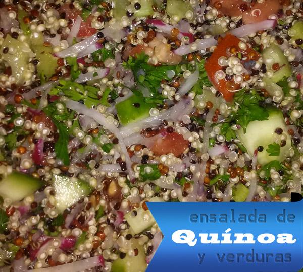 Ensalada de Quínoa y Verduras | Fácil – Rápida y Saludable Ensalada de Quinua