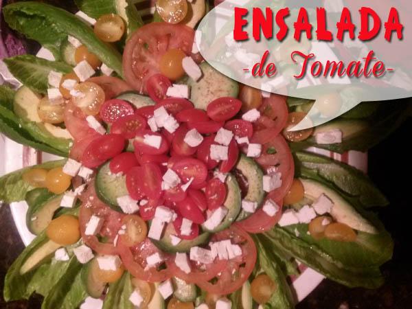 Ensalada de Tomate Fácil al estilo Que Cocinar