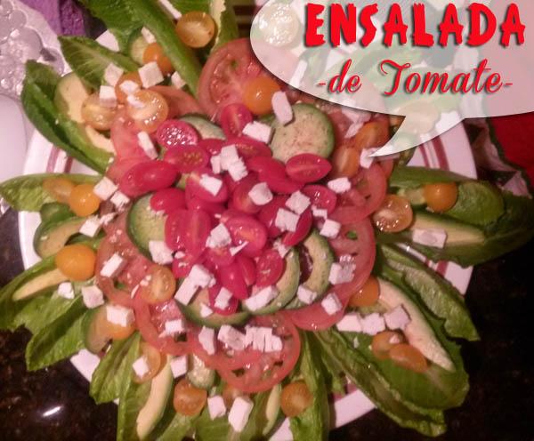 Ensalada-de-tomate-1 Ensalada de Tomate Fácil al estilo Que Cocinar
