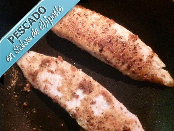 Pescado-filete-en-salsa-de-chipotle Pescado en Salsa de Chipotle | Pescado con Salsa de Mariscos