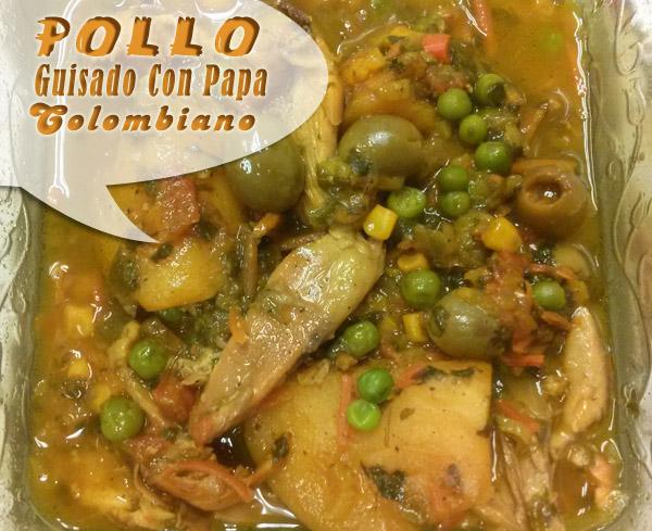 Pollo Guisado Con Papa Colombiano | Que Cocinar Con Pollo