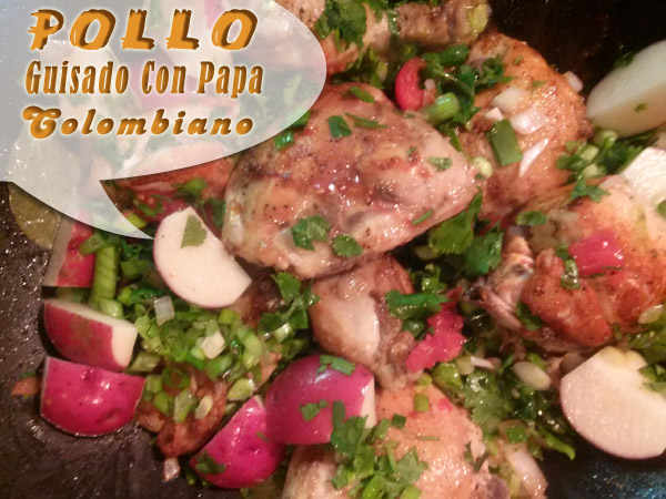 Pollo-Guisado-Con-Papa-Colombiano-2 Pollo Guisado Con Papa Colombiano | Que Cocinar Con Pollo