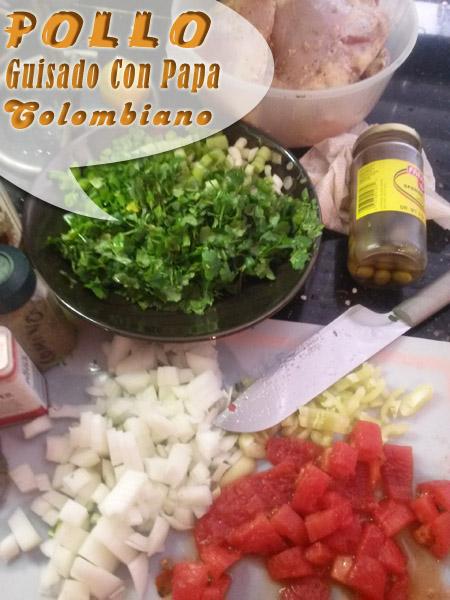 Pollo-Guisado-Con-Papa-Colombiano-3 Pollo Guisado Con Papa Colombiano | Que Cocinar Con Pollo