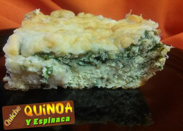 Tarta de Quinua con Espinaca