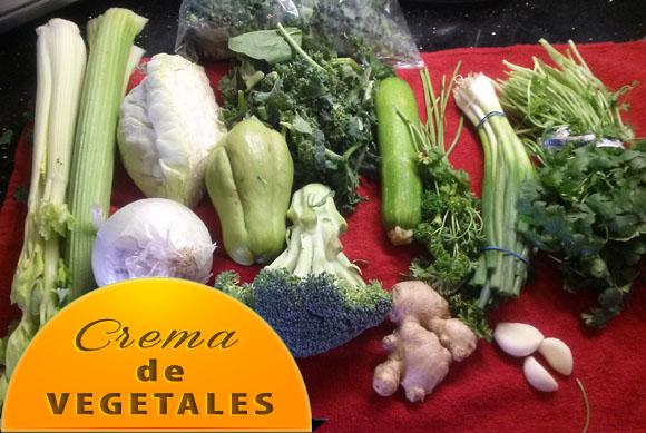 Crema-de-Vegetaless-ingredientes Crema de Vegetales | Recetas Para Rebajar de Peso