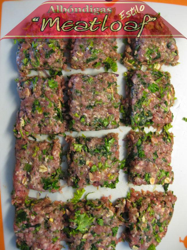 Albondigas-estilo-meatloaf-2 Albóndigas Estilo Meatloaf | Recetas De Comida Facil