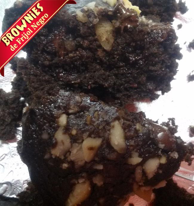 Brownies-frijol-negro-1 Brownies De Frijol Negro | Receta De Brownies Sin Harina