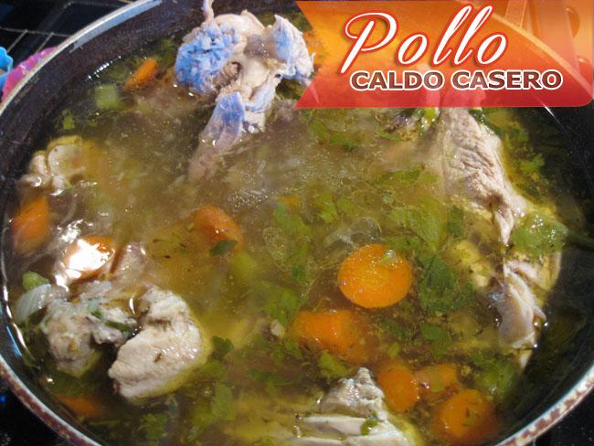Caldo-de-Pollo-Casero-4 Caldo De Pollo Casero | Consomé de Pollo Casero