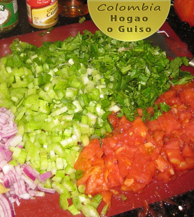 Hogao Colombiano Receta | Receta de Guiso