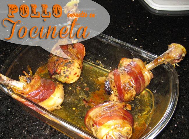 Pollo-Envueltos-En-Tocineta-6 Pollo Envueltos En Tocineta | Recetas Con Pollo