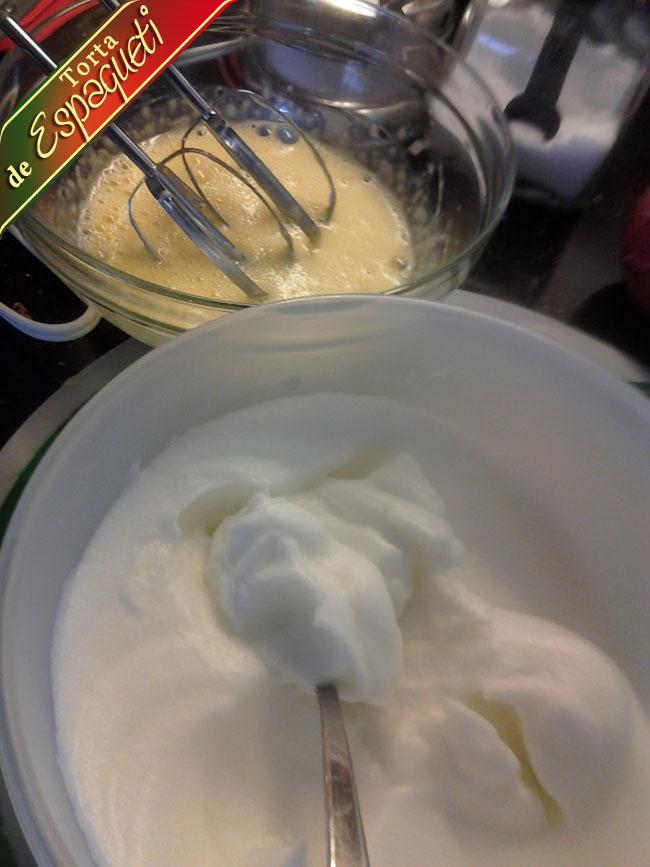 Torta-de-espagueti-huevo-batido Receta Torta Espagueti De Mi Mama | Que Cocinar Hoy