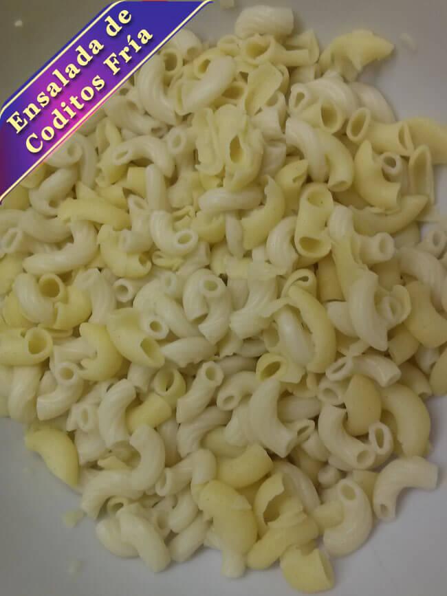 Ensalada-de-Coditos-Fria-3 Ensalada de Coditos Fría | Ensalada de Pasta