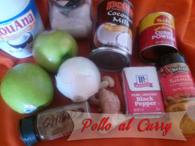 Pollo-al-curry-1 Pollo Al Curry Con Manzana Y Leche De Coco