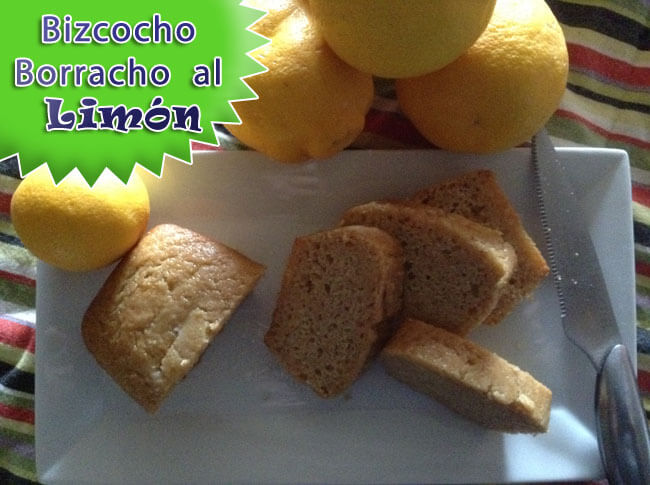 Bizcocho Borracho al Limón | Que Cocinar de Postre