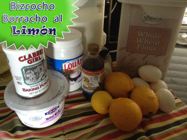 Bizcocho-Borracho-al-Limon-8 Bizcocho Borracho al Limón | Que Cocinar de Postre