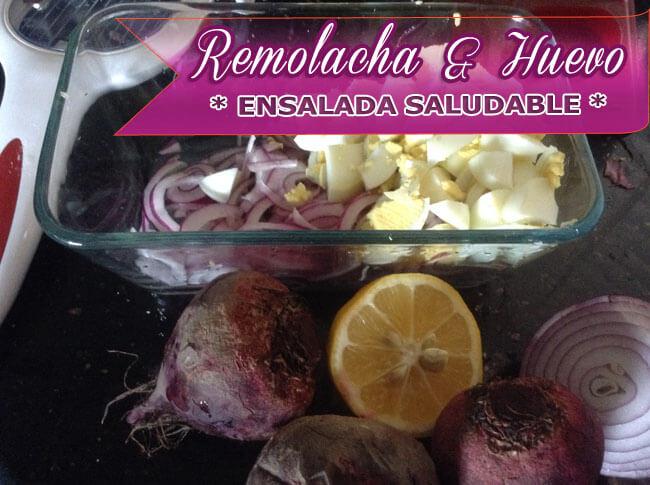 Ensalada-de-Remolacha-y-Huevo-2 Ensalada de Remolacha y Huevo | Recetas Con Ensaladas