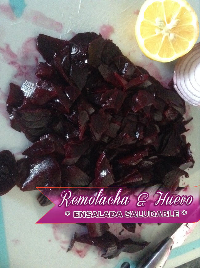 Ensalada-de-Remolacha-y-Huevo-3 Ensalada de Remolacha y Huevo | Recetas Con Ensaladas