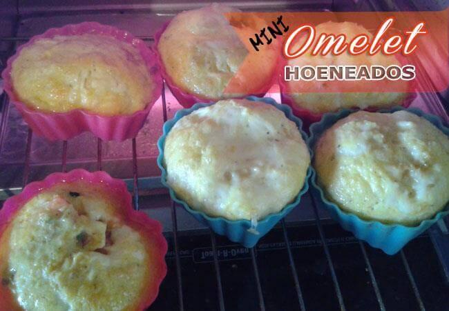 Mini-Omelet-Horneados-8 Mini Omelet Horneados | Desayunos Rápidos Y Fáciles