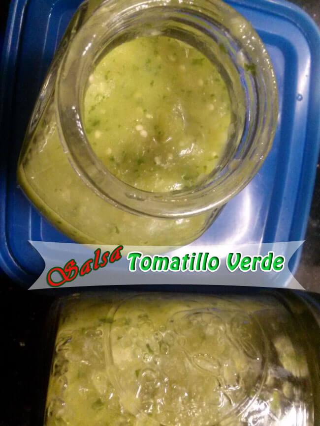 Salsa-de-Tomatillo-Verde-2 Salsa de Tomatillo Verde | Salsa Verde cocina Mexicana