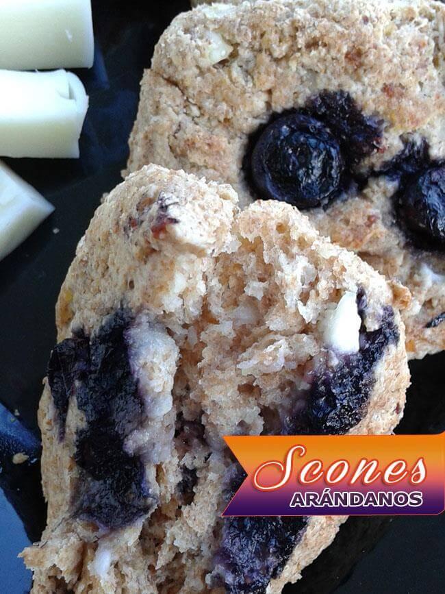 Scones-de-Ar%C3%A1ndanos-17 Scones De Arándanos | Deliciosos Panecillos Escoceses