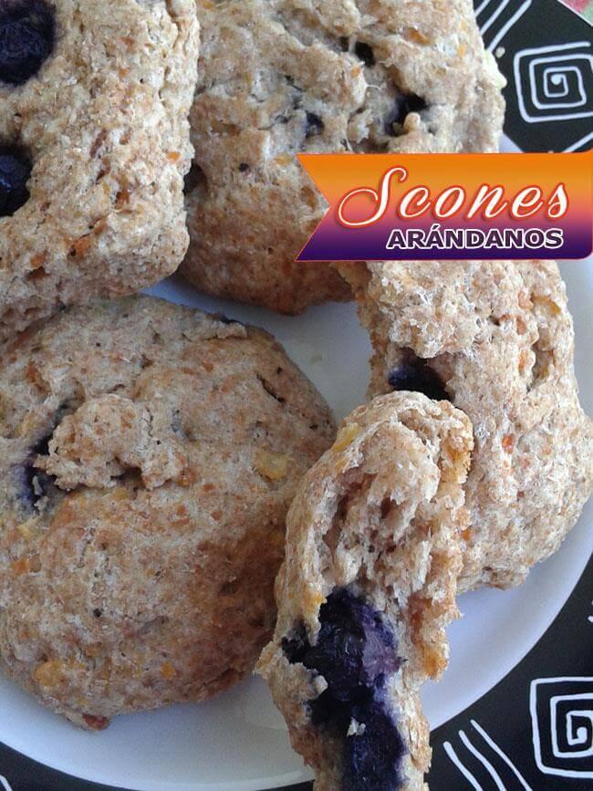 Scones De Arándanos | Deliciosos Panecillos Escoceses